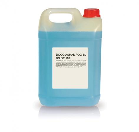 Tanica 5 L. Doccia shampoo Accessori Kit Cortesia