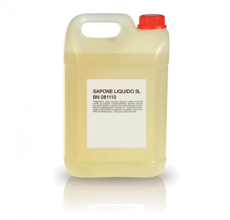 Tanica 5 L. Sapone Liquido Accessori Kit Cortesia